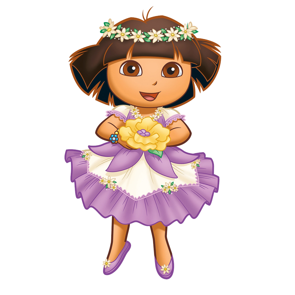 Templates, cliparts and more: Dora the Explorer items