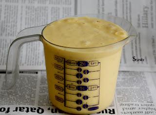 طريقة إعداد عصير المانج المثلج مع الموز رائع شكلا ومذاقا بالخطوات المصورة