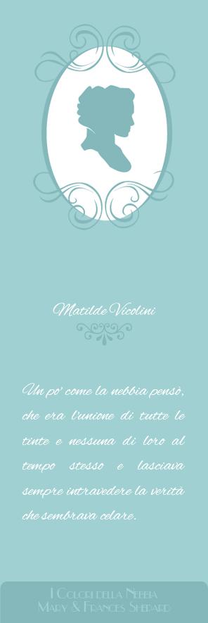 Scarica il segnalibro de I colori della Nebbia di Mary e Frances Shepard - Matilde