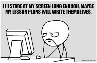 Lesson plans... #teacherproblems