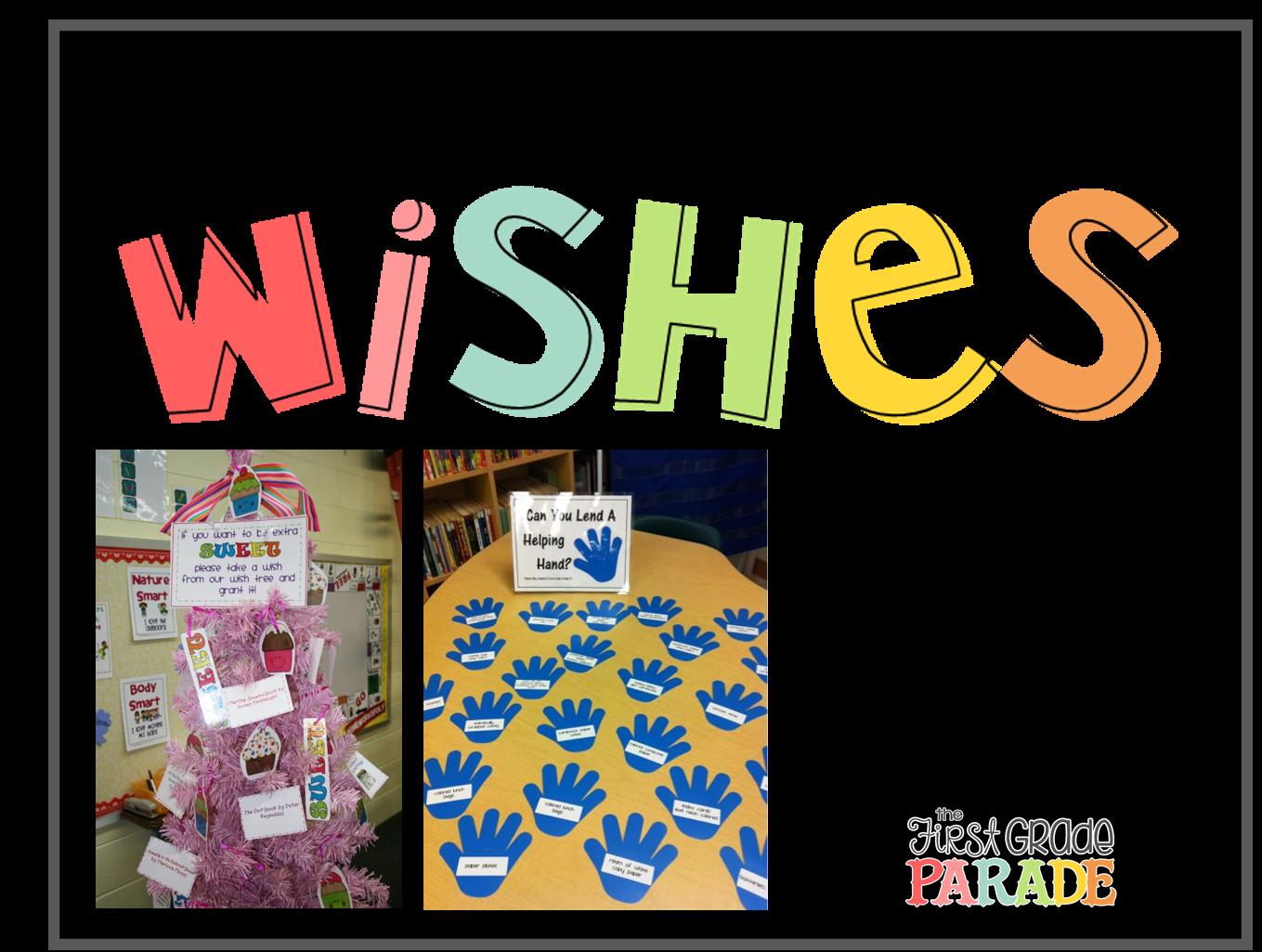 Classroom Wish List Ideas ~ Meet the teacher freebies first grade parade