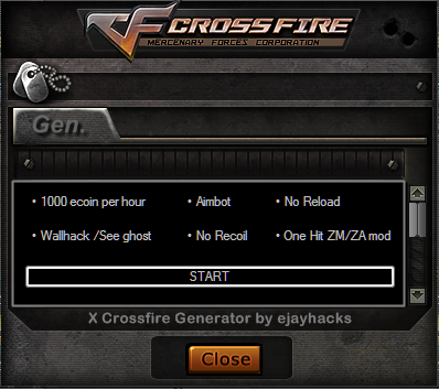cheat in crossfire ph