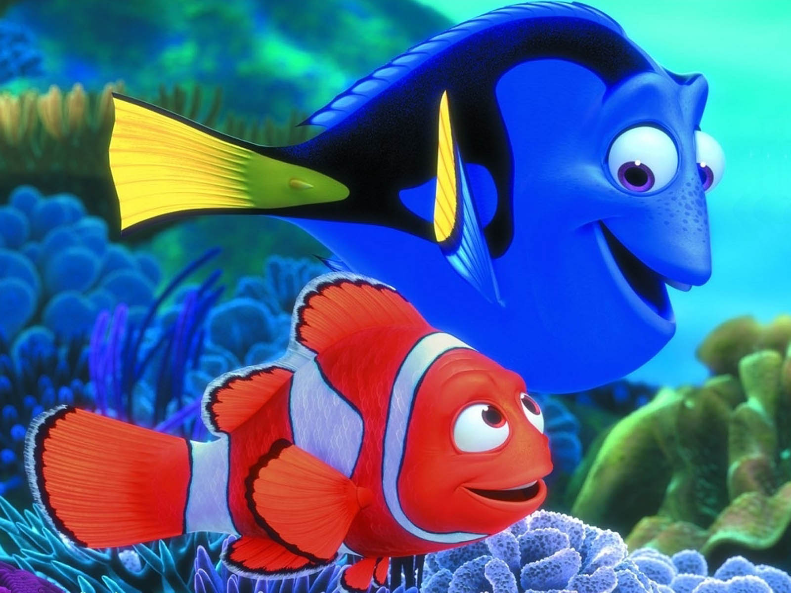 Finding Nemo Fish Characters