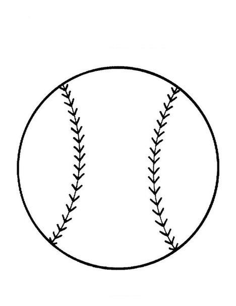 beisbol coloring pages - photo#31