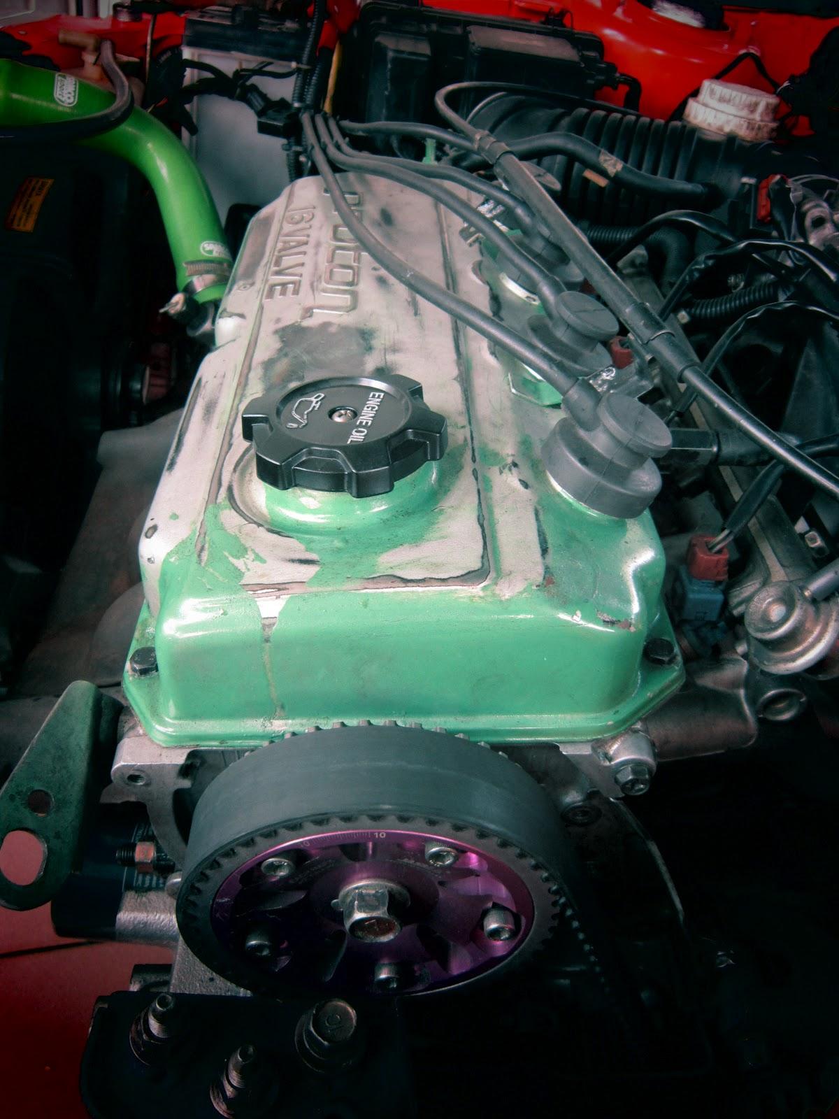 Diy 4g92 Sohc Valve Clearance Setting Wirahybrid Mitsubishi Wiring Diagram Remove Spark Plug Cables