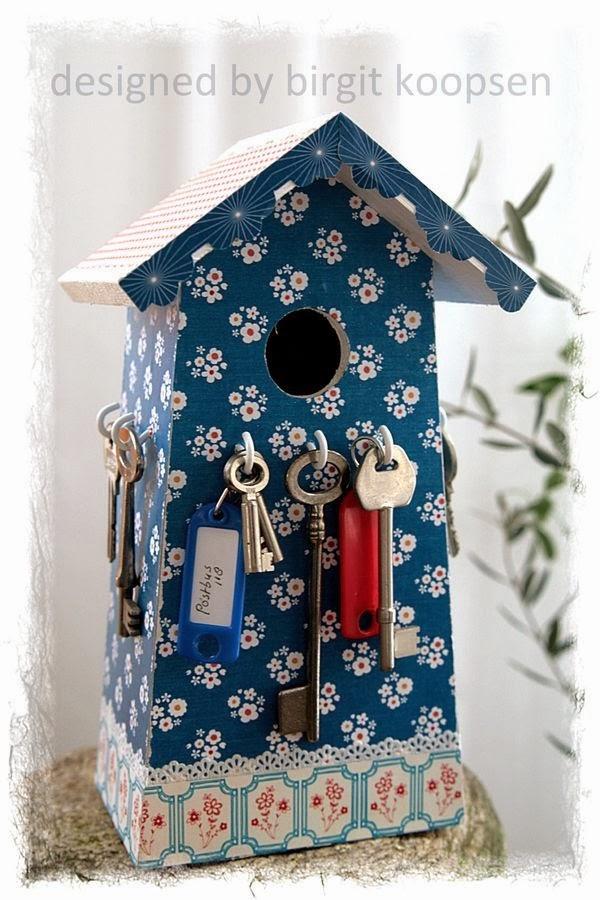 porta chaves,casa de passarinhos