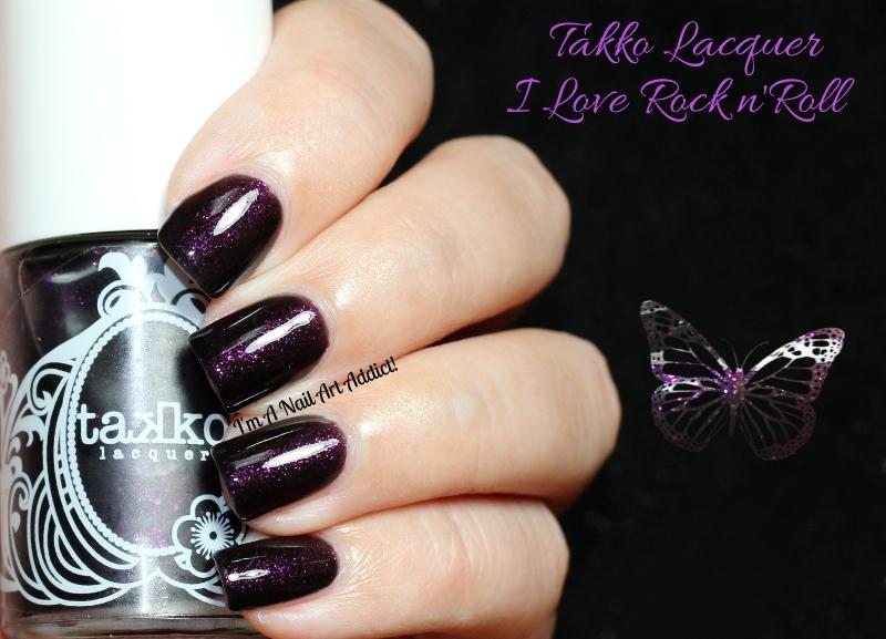 Takko Lacquer // I Love Rock n\'Roll.