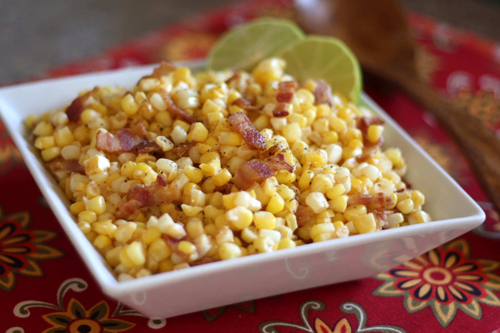 fresh sweet corn sauteed with mexican spices and then tossed with lime ...