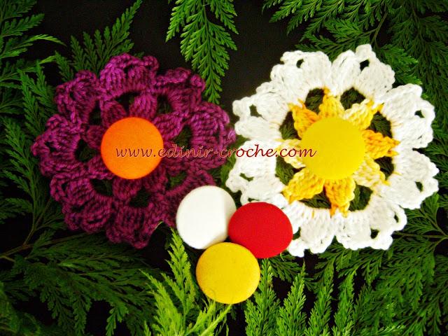 flores em croche passo-a-passo dvd frete gratis