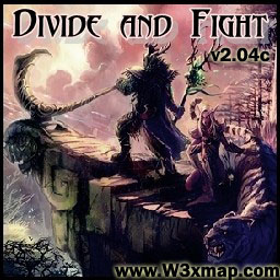 Divide and Fight v2.04c Map