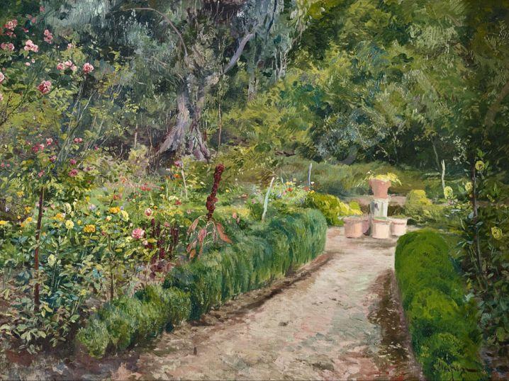 Eliseo meifr n y roig jardines patios y claustros for Casa jardin badalona