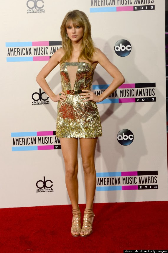 Not Stunning: Taylor Swift's Dress