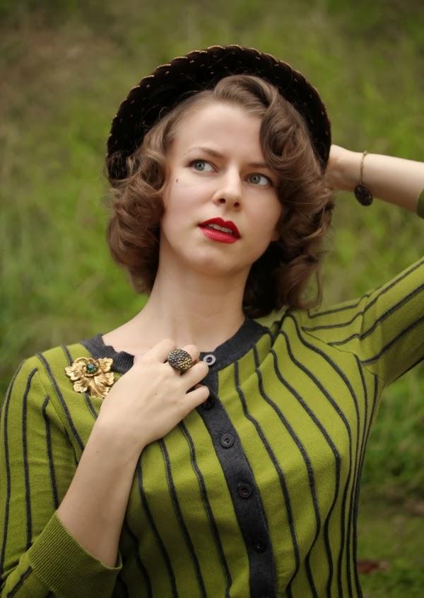 My Vintage Autumn #vintage #fashion #style #autumn #fall #1930s #1940s