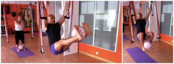 aeropilates pilates aereo ball