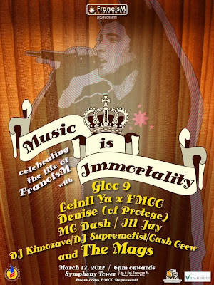 FMCC proudly presents Music is Immortality