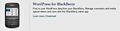 Does blog beast have an app for blacberry?