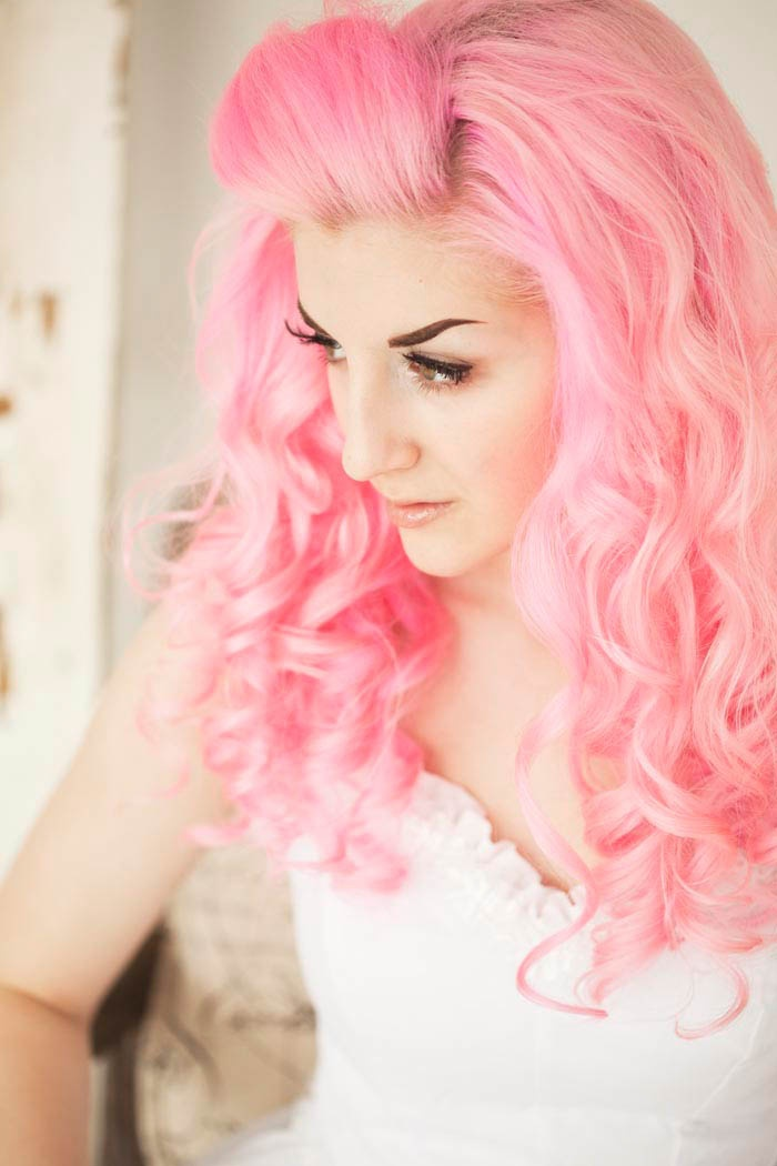 Does Your Hair Rock Pink Caffeine