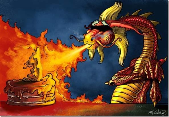 Поздравление от дракона на день рождения