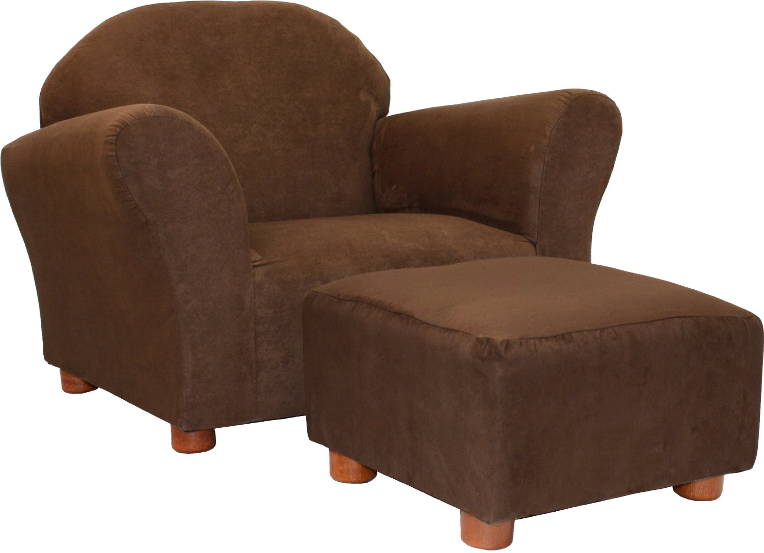 Total Fab Kids & Toddler Chair and Ottoman Sets