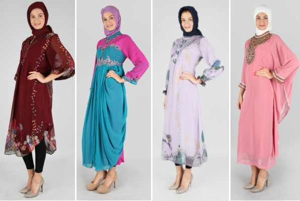 Gaya Fashion Model Baju Muslim Zalora Busana Simple
