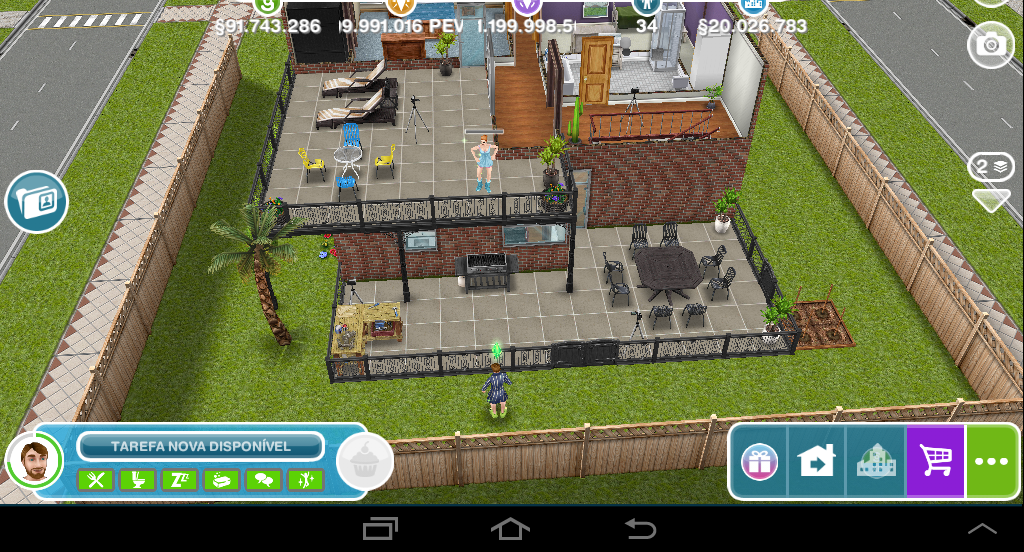 The sims freeplay sacada dos pombinhos apaixonados for Casa de diseno sims freeplay