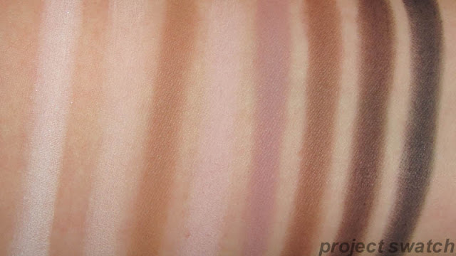 Lorac Pro eyeshadow swatches