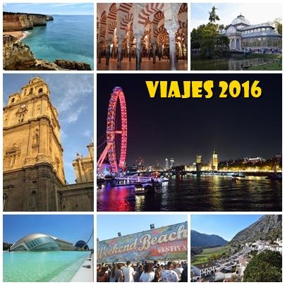 Mis viajes del 2016