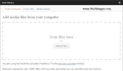Upload Images WordPress
