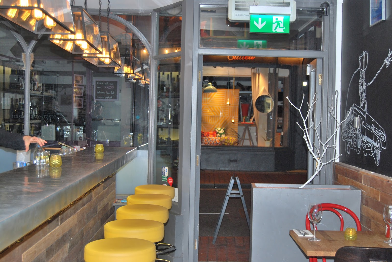 Kooks restaurant, Brighton photo by modernbricabrac