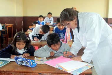 Profesores en Bolivia