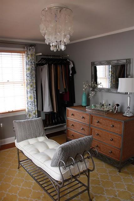 the closet therapist his closet her dressing room. Black Bedroom Furniture Sets. Home Design Ideas