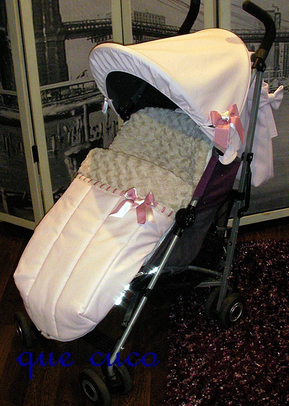 Que cuco sacos y complementos for Saco para silla maclaren