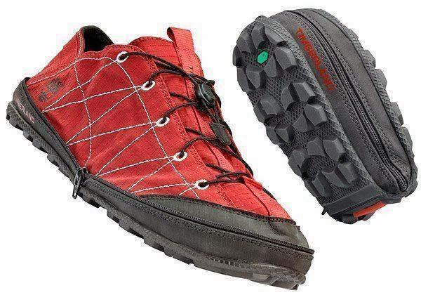 objetos de diseño, zapatillas, zapatillas plegables, Timberland