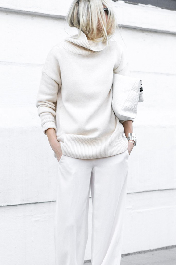 All white casuals via Figtny
