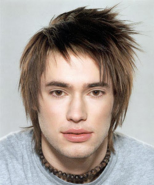 Straight hairstyles for men 2013