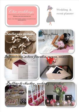 SERVICIOS QUE TE OFRECE CHIC WEDDINGS