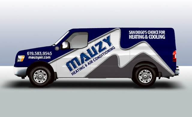 example of best truck wrap design