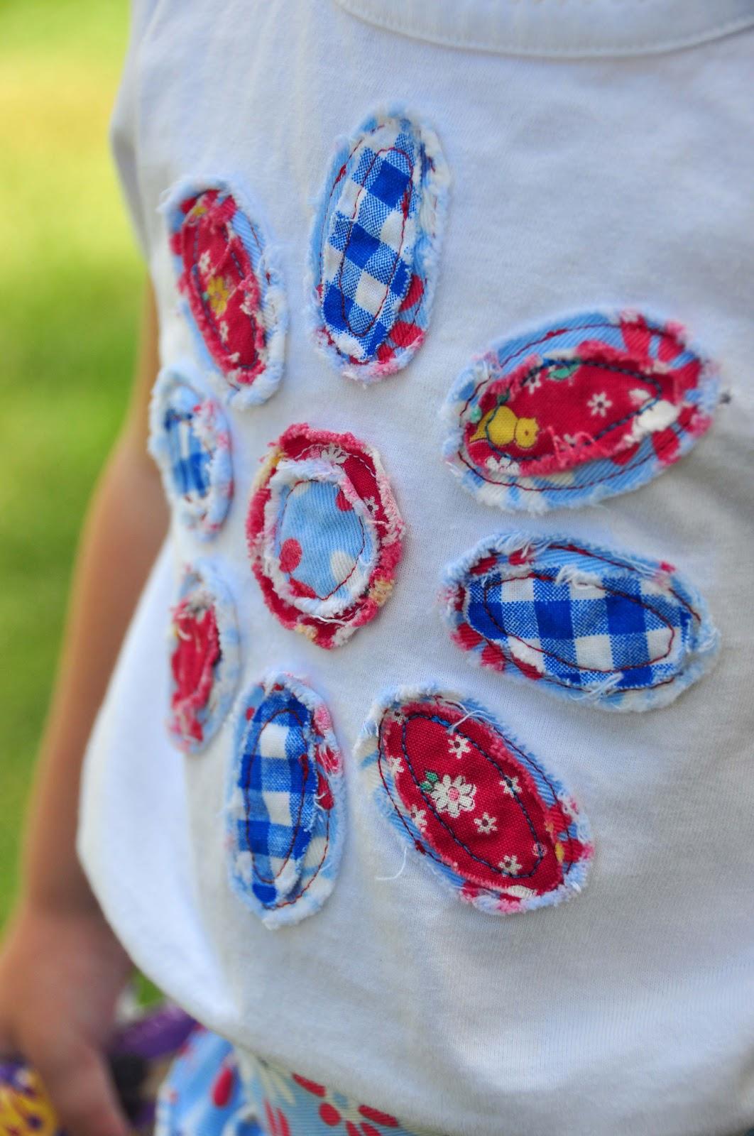 Модные аппликации на одежде своими руками