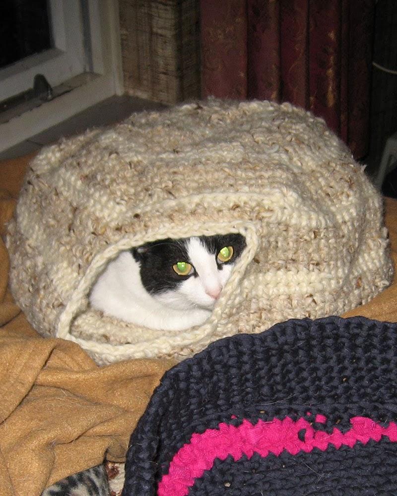 Crea Mon Haken Katten Mand