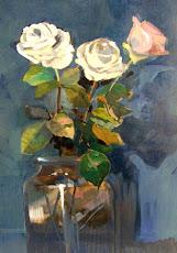 Rose in blu