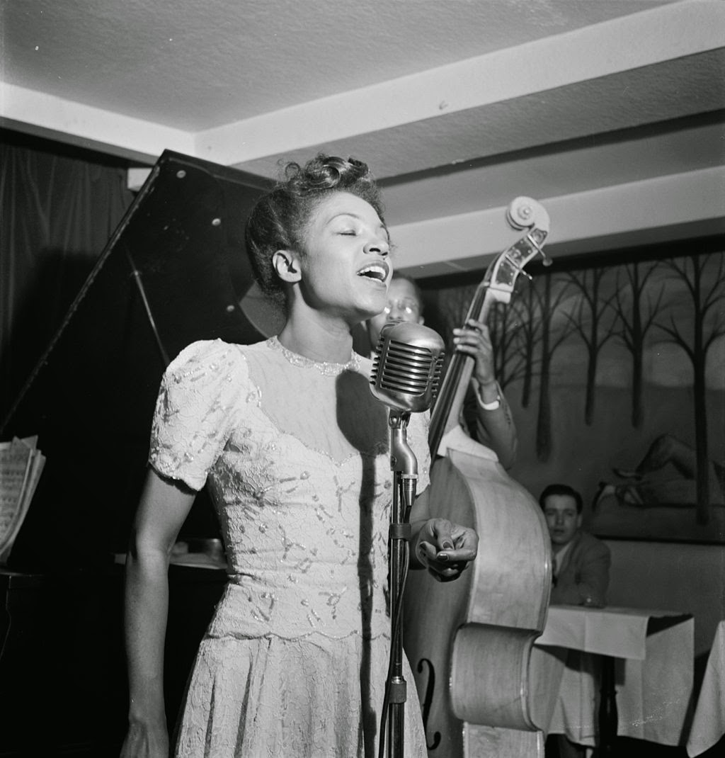 http://en.wikipedia.org/wiki/Village_Vanguard#mediaviewer/File:Maxine_Sullivan_Village_vanguard_ca._19478.jpg