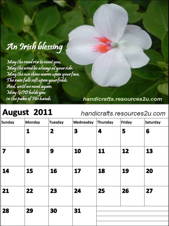 Short Monthly Calendar Quotes : August calendar for monthly quotes quotesgram