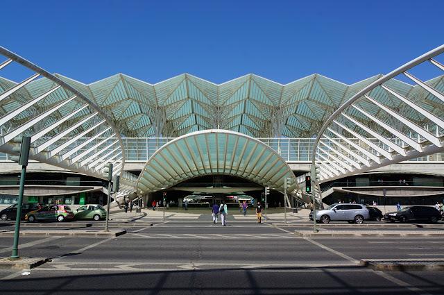 Lisbonne - Gare Oriente
