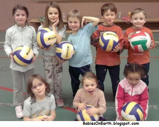 BABY VOLLEYBALL