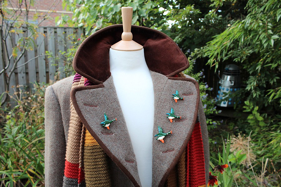 Do let me know what you think. & Making My 4th Doctor Costume: Four Frock Coat - finished!
