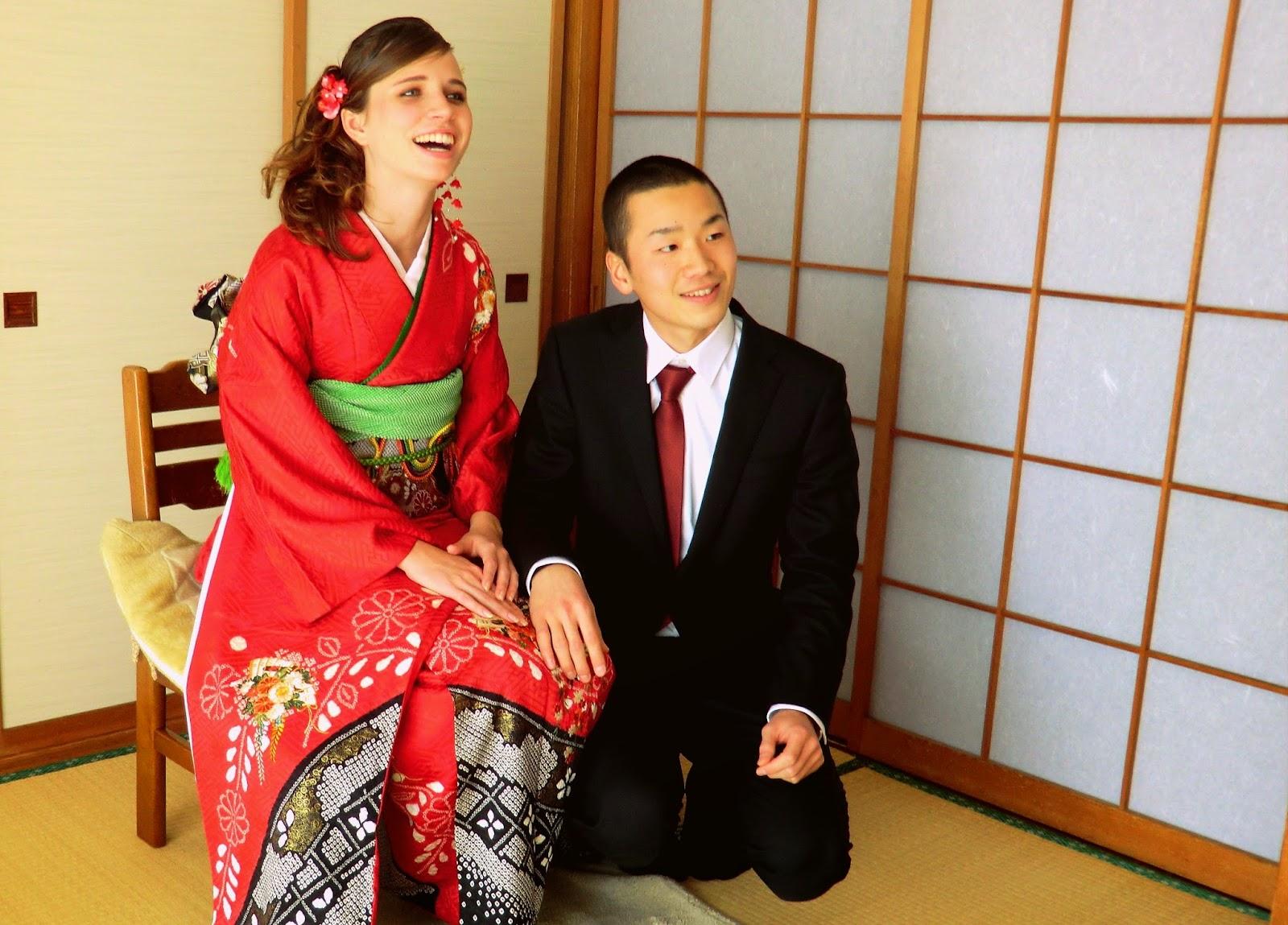 Boda internacional en Japón