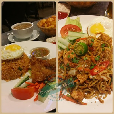 Thoyyib Cafe, tempat makan best, tempat makan popular, bandar baru nilai, hotel the aston, giant nilai, white coffee sedap, buffet ramadhan