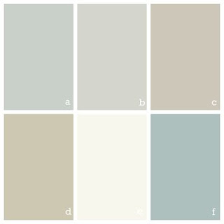 Benjamin Moore Cool Toned Color Palette