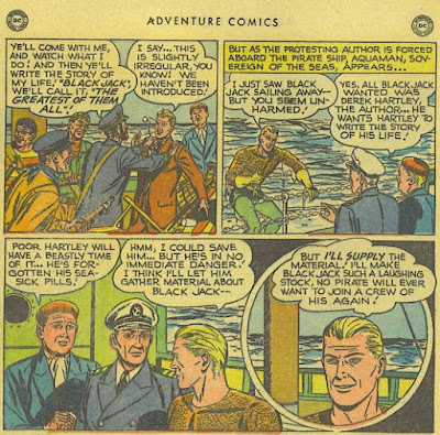 Adventure 151 Aquaman panels