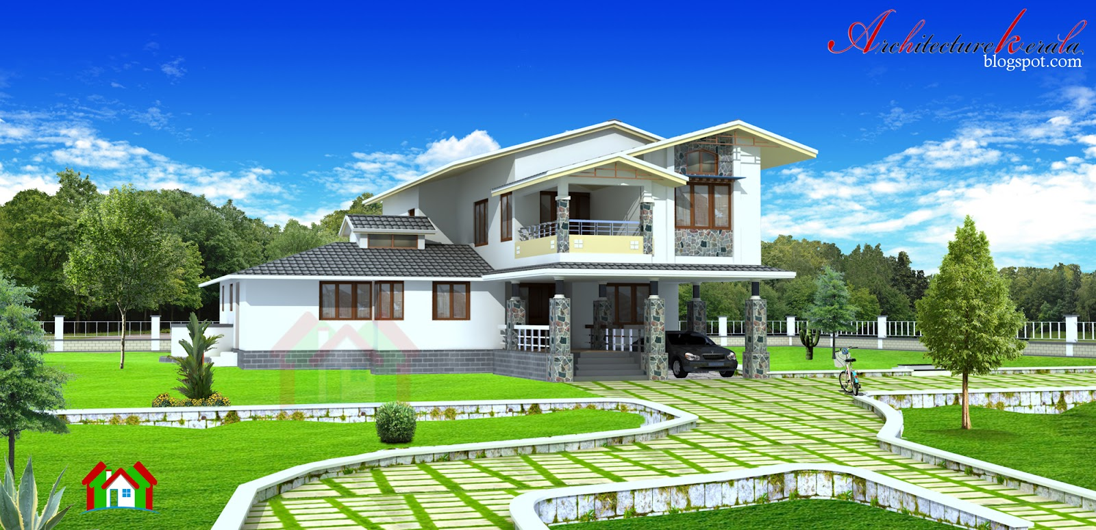 Architecture kerala 2500 sq ft kerala style house design for 5000 sq ft house plans in kerala